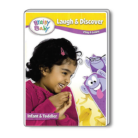 Brainy Baby Laugh & Discover: Play and Learn Deluxe Edition Infant DVD