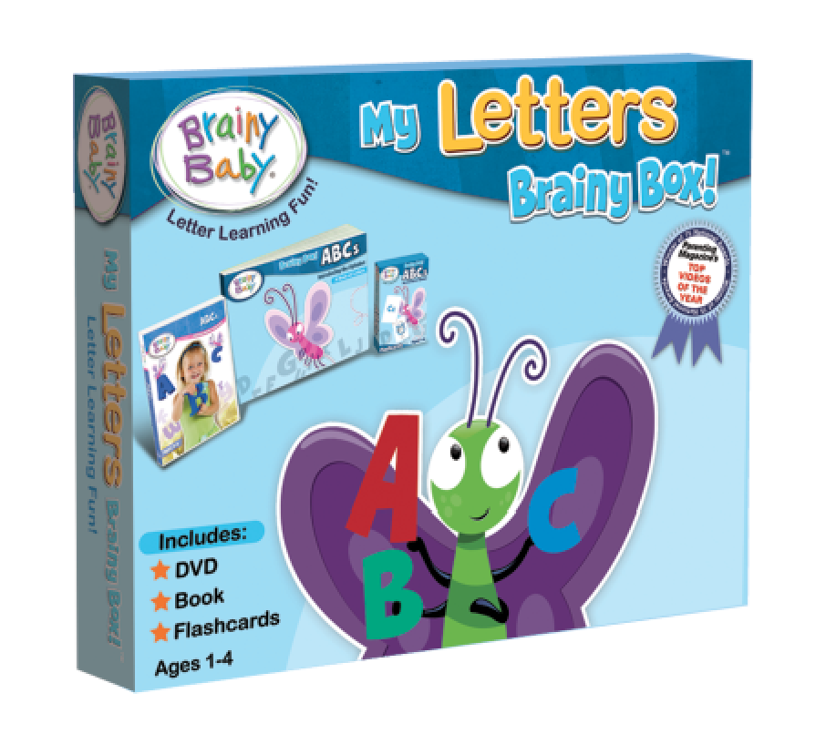 My Letters Brainy Box | Learning Abcs