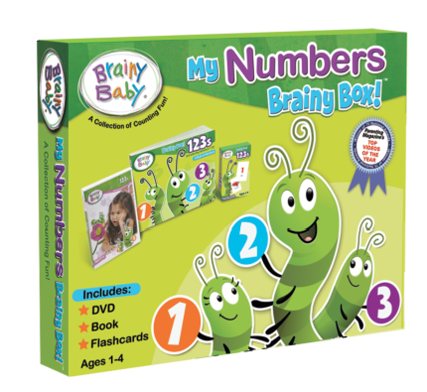 My Numbers Brainy Box | Learning Counting