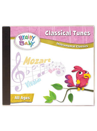 Brainy Baby Classical Tunes Music CD Instrumental Classics | Classical Tunes Music CD | Music Gift Set