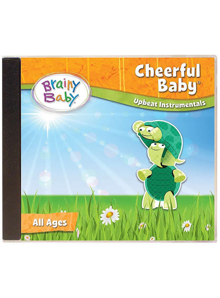 Brainy Baby Cheerful Baby Music CD Upbeat Instrumentals | Cheerful Baby Music CD | Baby Music