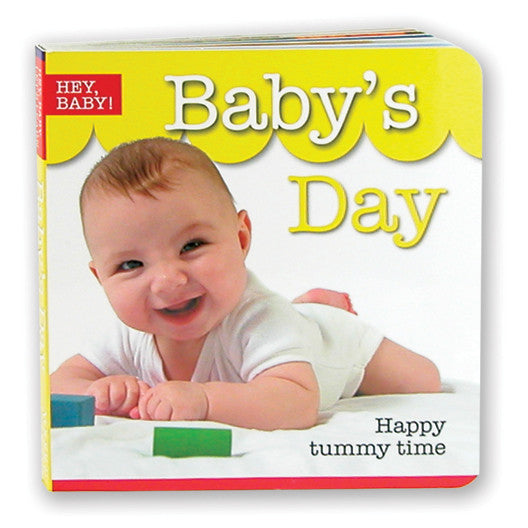 Hey Baby - Baby's Day Board Book