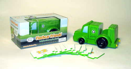 Rudy the 123s Recycling Truck - Flashcard Friends New Wooden Toy