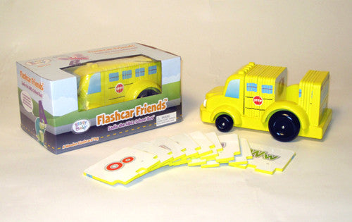 Sadie the ABCs School Bus - Flashcard Friends New Wooden Toy