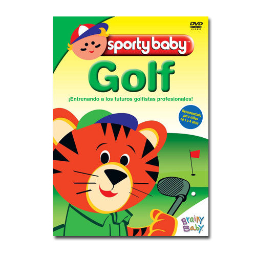 Sporty Baby Golf - Spanish | Brainy Baby Sports