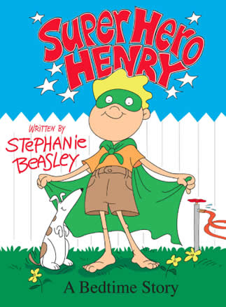 Super Hero Henry Picture Book | Brainy Baby Book