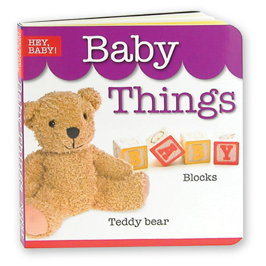 Baby Things Board Book | Brainy Book