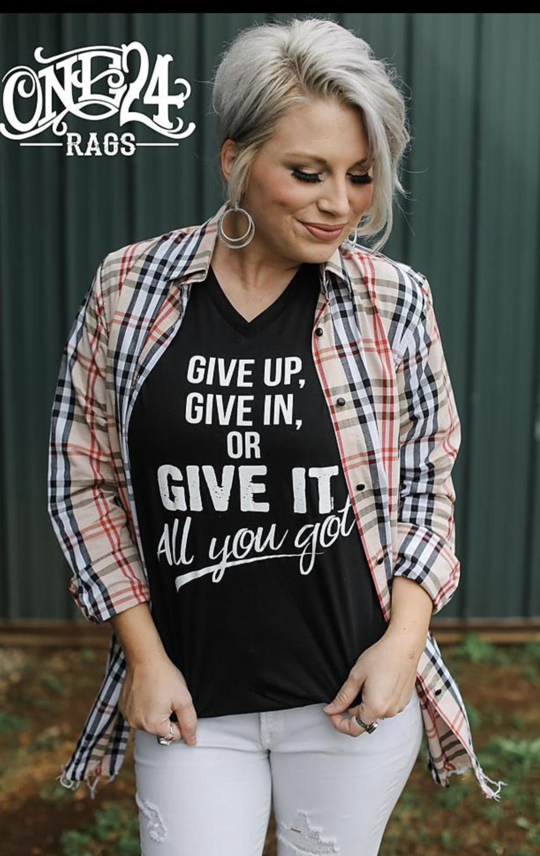 Give It All Tee