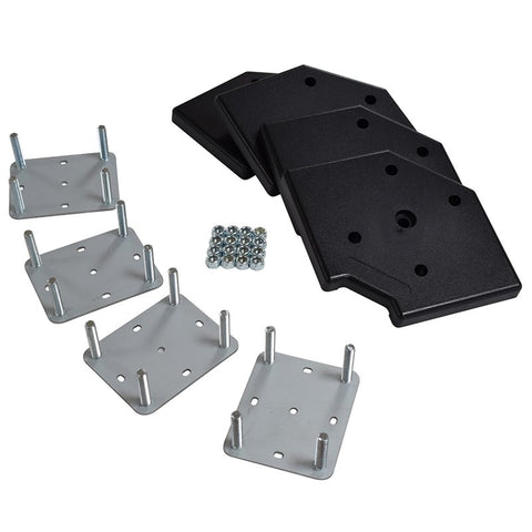 4 Piece Wheel Plate Kit (Plates, Corners, Nylocks) W9970-KIT