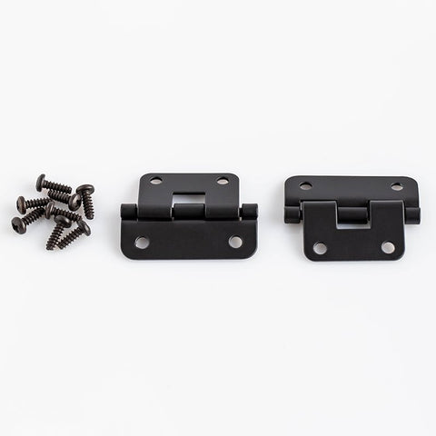 Pack of 2 x Black Lift Off Hinges P0625K-PE2