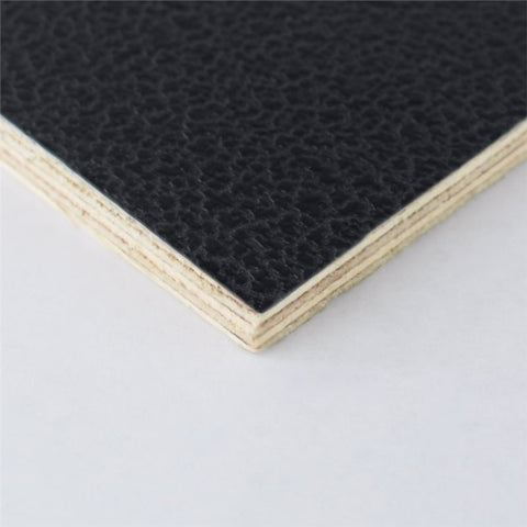 "4x4' Black Laminated Plywood Panel - Thickness: 6.5mm (1/4"") M876006-2"