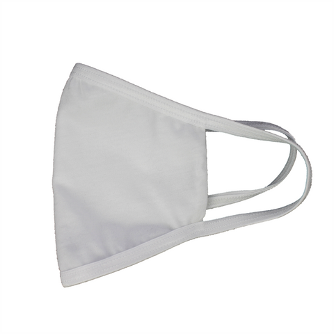 Washable Cotton Safety Mask With Filter Pouch (White) FLTRMSK-WHT