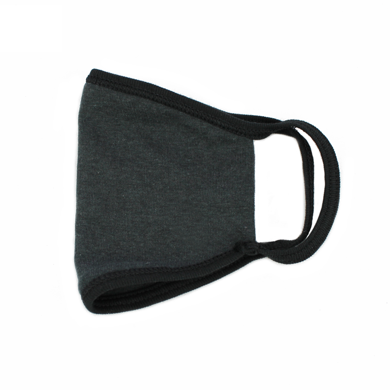 Washable Cotton Safety Mask With Filter Pouch (Black) FLTRMSK-BLK