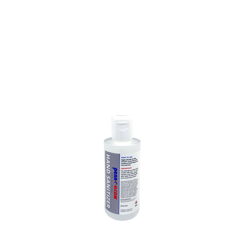 80% Alcohol Hand Sanitiser (100ml Bottle) PEHS80-100