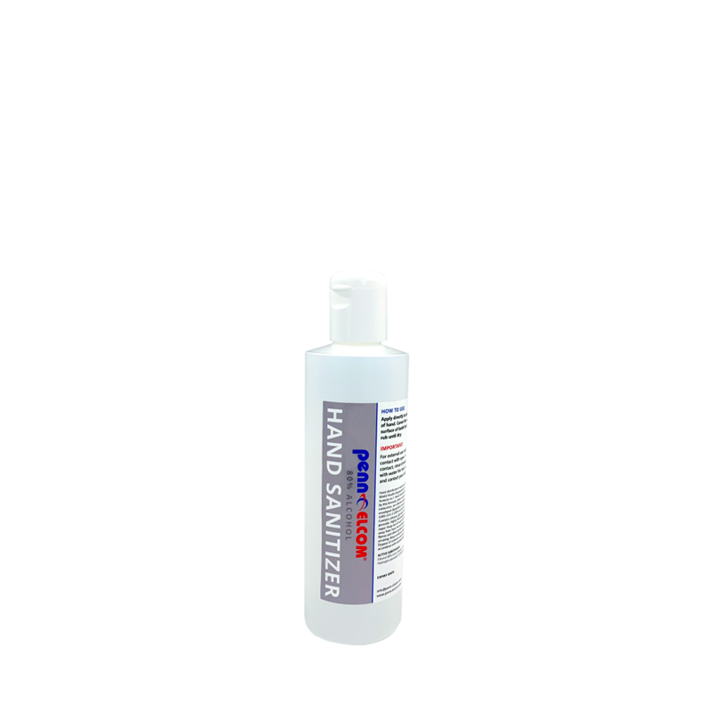 80% Alcohol Hand Sanitiser (250ml Bottle) PEHS80-250