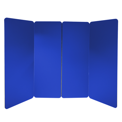 Portable Social Distancing Screen (Large, Blue) PB-3W-BLUE