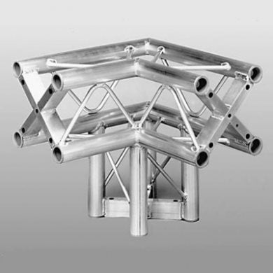 Square Truss 2 Way Junction with Leg (3 Way Corner) ST-System ST252L