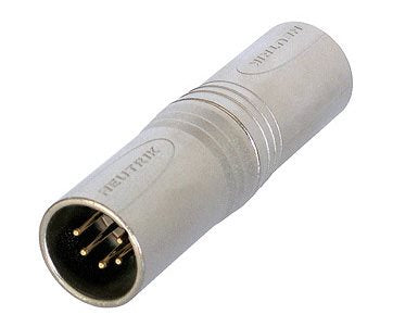 Adaptor XLR 5 Pin Male to XLR 5 Pin Male NA5MM