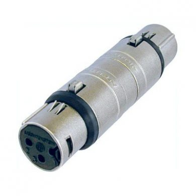 Adaptor XLR Female to XLR Female NA3FF