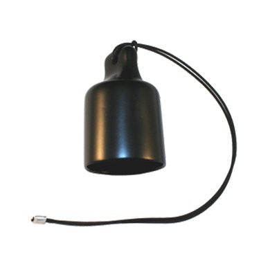 Rubber Cap for 32Amp powerCON with cable attachment loop RBR-CAP-CABLE-PWR