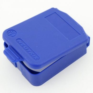 D Sized Hinged Cover Blue SCDX-6-Blue