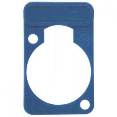 Lettering Plate Blue for D-Chassis Connector DSS-Blue