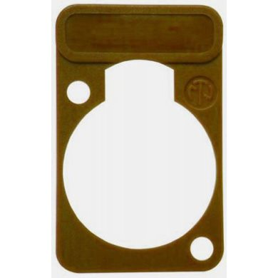 Lettering Plate Brown for D-Chassis Connector DSS-Brown DSS-Brown
