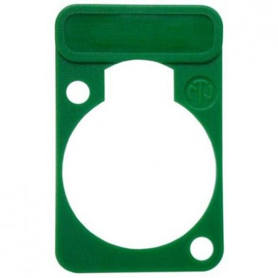 Lettering Plate Green for D-Chassis Connector DSS-Green