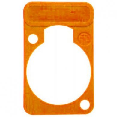 Lettering Plate Orange for D-Chassis Connector DSS-Orange