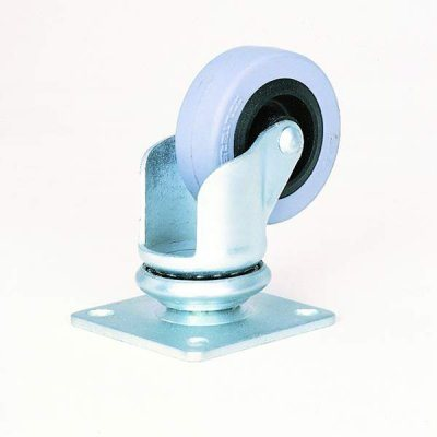 "50mm / 2"" Swivel Castor with Grey Wheel W0960"