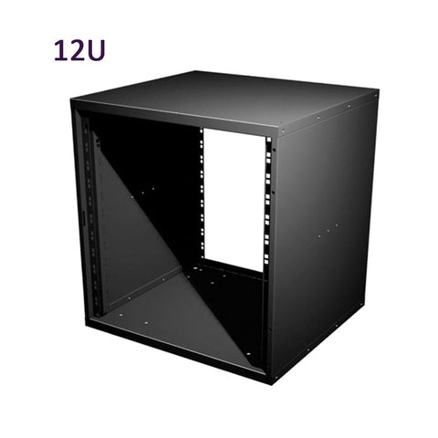 "12U 19 Inch Flat Pack Rack Cabinet 480mm/18.9"" Deep R8400-12"
