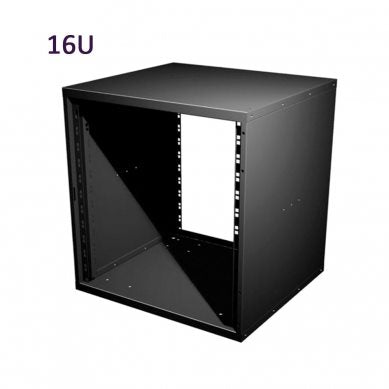 "16U 19 Inch Flat Pack Rack Cabinet 480mm/18.9"" Deep R8400-16"