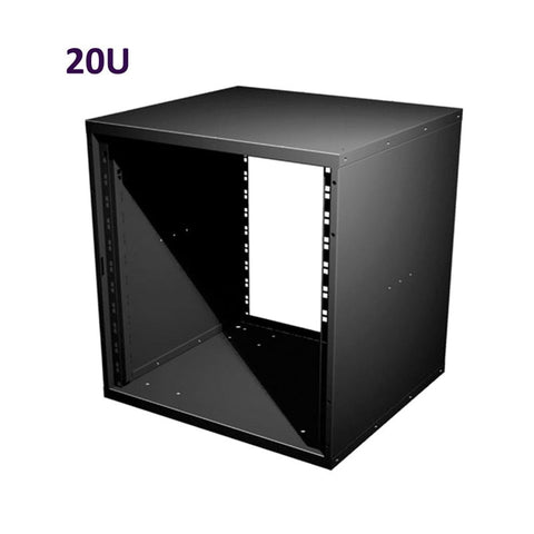 "20U 19 Inch Flat Pack Rack Cabinet 480mm/18.9"" Deep R8400-20"