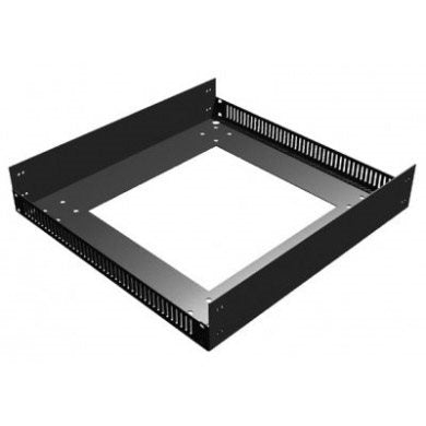 "Base Unit for 510mm / 20"" Deep Rack Frame with M10 fixings for feet/castors R8210/20"