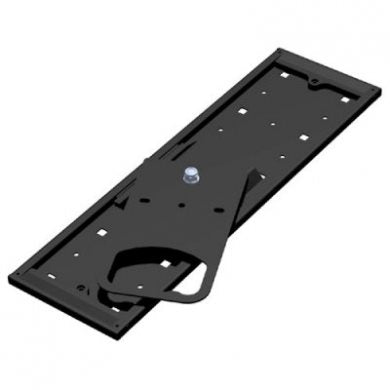 Black Swivel Bracket with Sliding Track for CPU-87 EX-1220B