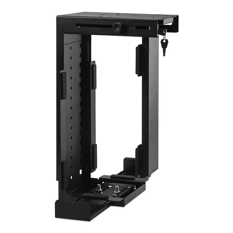 Rigid Locking Computer Holder Black CPU-87B/L