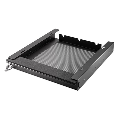 "Laptop Security Drawer 350mm/13.78"" Black EX-6101B"