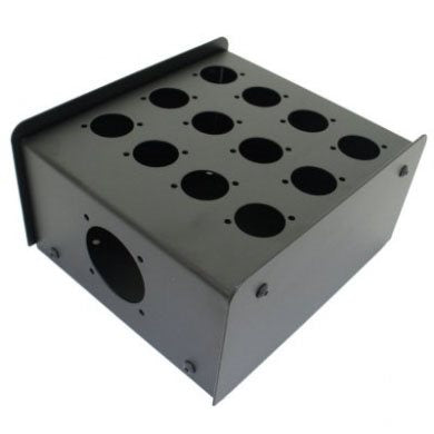 12 Hole Stage Box Punched for D-Series Connectors R2350-12