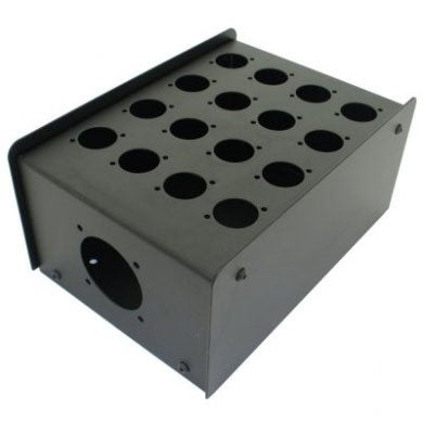 16 Hole Stage Box Punched for D-Series Connectors R2350-16