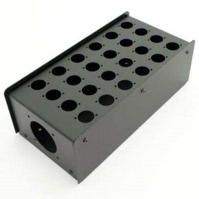 24 Hole Stage Box Punched for D-Series Connectors R2350-24