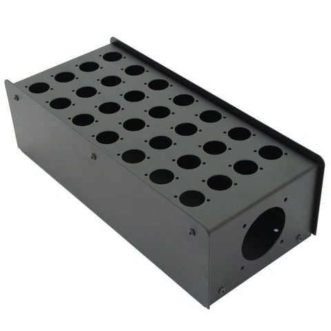 28 Hole Stage Box Punched for D-Series Connectors R2350-28