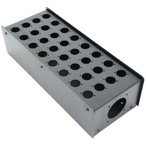 32 Hole Stage Box Punched for D-Series Connectors R2350-32