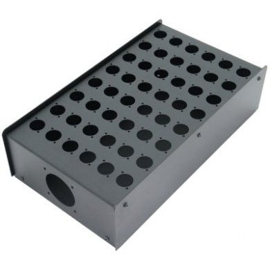 48 Hole Stage Box Punched for D-Series Connectors R2350-48