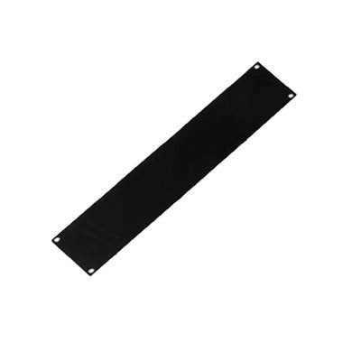 2U Rack Panel Steel Flat Black R1385/2UK