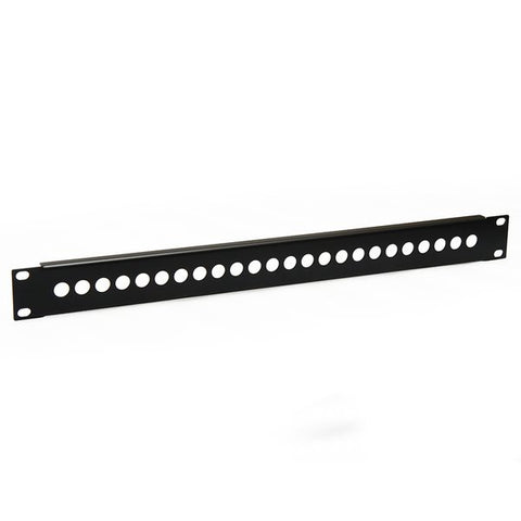 1U Patch Panel for 24 4mm Binding Post-Black R1313/1UK
