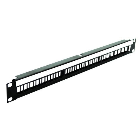 1U Rack Panel for 24 x Keystone Modules R1245/1UK