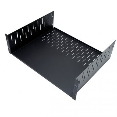 "1.5U Clamping Rack Shelf 367mm  / 14.46"" Deep R1297/1-5UK"