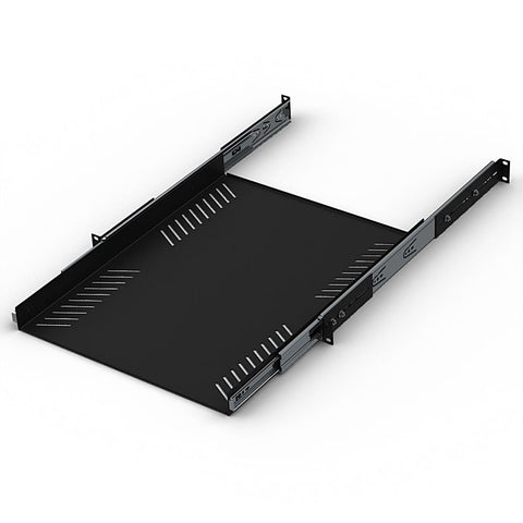 "1U Sliding Rack Tray 600mm / 23.62"" Deep R1290-600/1UK"