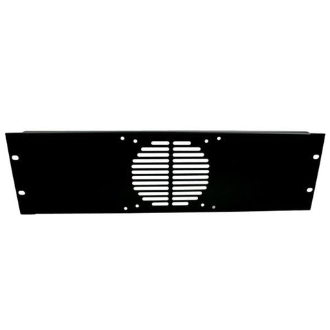 3U Rack Panel Punched for 1 Fan R1268/3UK/F1
