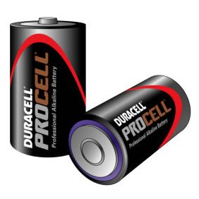 Pack of 10 x Duracell Procell Size D/MN1300 Batteries Procell-D(MOQ-50-Box